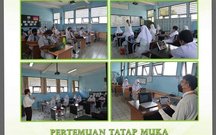 Pertemuan Tatap Muka Terbatas SMP Islam Alazka