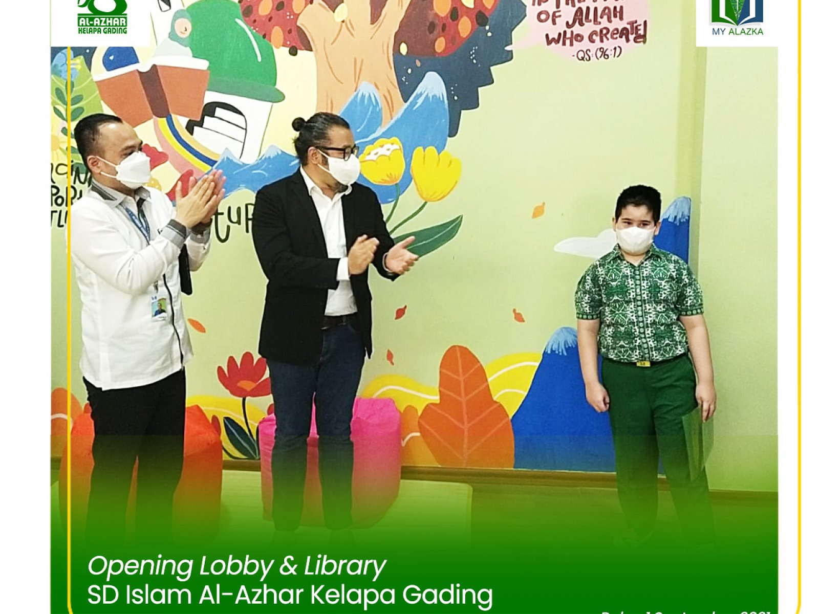 Opening for New Lobby & Library